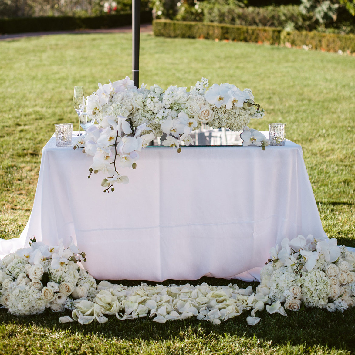 """Jodiee S Blog Wedding Ceremony Table: Ask The Experts: """"How Can I Repurpose My Ceremony Décor"""