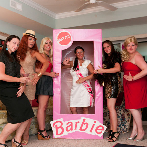 Barbie themed bachelorette party bridalguide