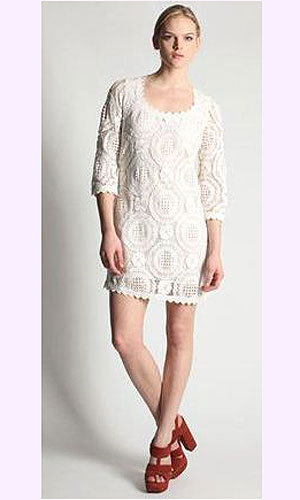 deliau0027s sleeveless lace dress