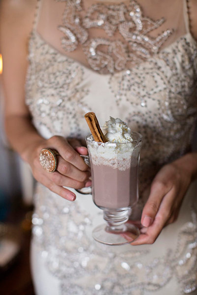 wedding hot chocolate