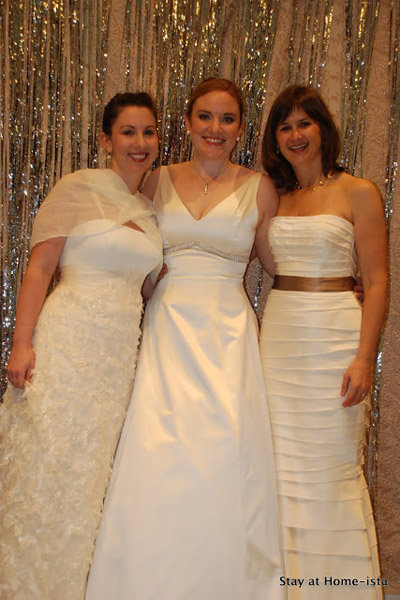 wear your wedding dress party