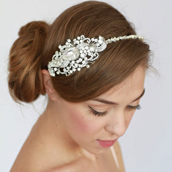 Wedding Hairstyles With Hair Jewelry: 20 Ethereal Hair Accessories From Etsy