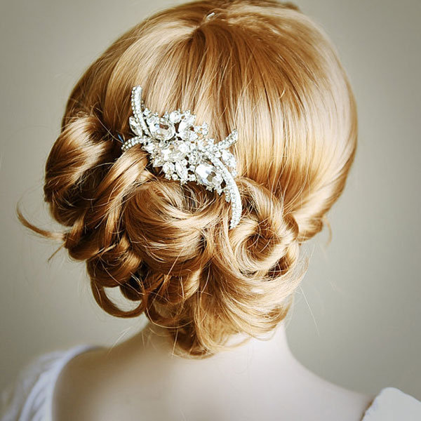 Style Rhinestone Bridal Hair Comb Wedding Hair Accessories Bridal ...