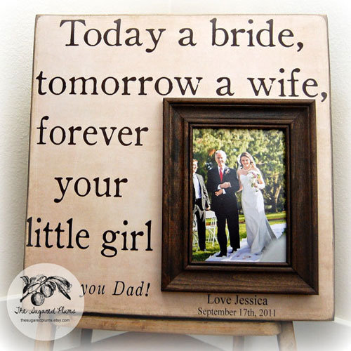 Wedding Day Gift For Father Of The Bride : ... You Gift Ideas for your Parents on your wedding day - Aisle Perfect