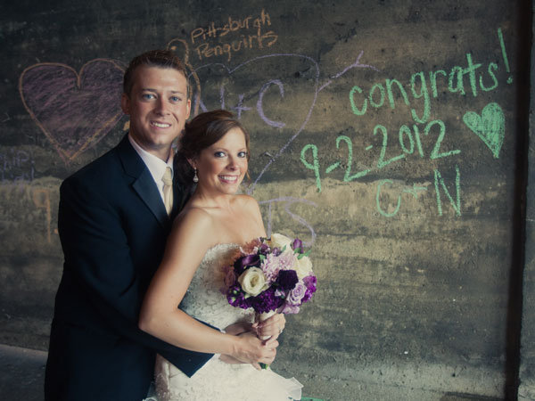 chalk wedding