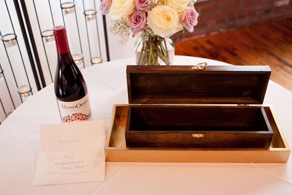 wine box ceremony