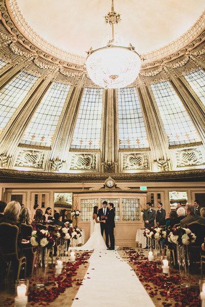 romantic multi cultural wedding