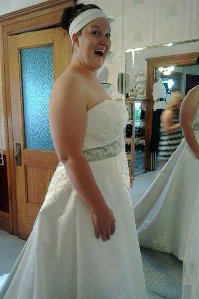 Finding A Wedding Dress When You Re Not Size 6