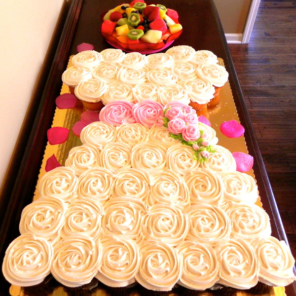 Modern wedding cakes for the holiday: Wedding shower cupcakes pinterest