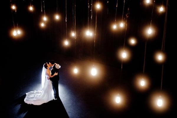 5 tips for a fabulous wedding dance bridalguide first dance under glittering lights junglespirit Gallery
