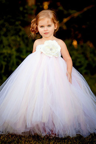 Adorable flower girl dresses and accessories bridalguide for Little flower girl wedding dresses