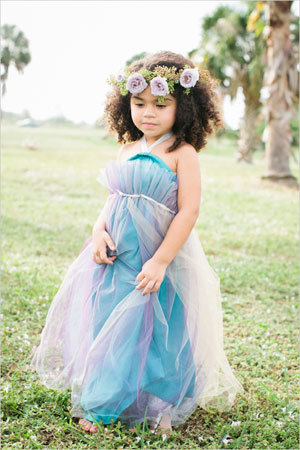 Adorable Flower Girl Dresses and Accessories | BridalGuide