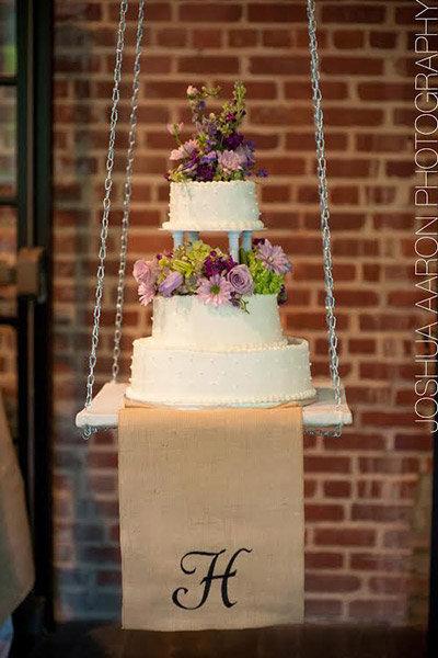 Trend We Love: Gravity-Defying Wedding Cakes   BridalGuide