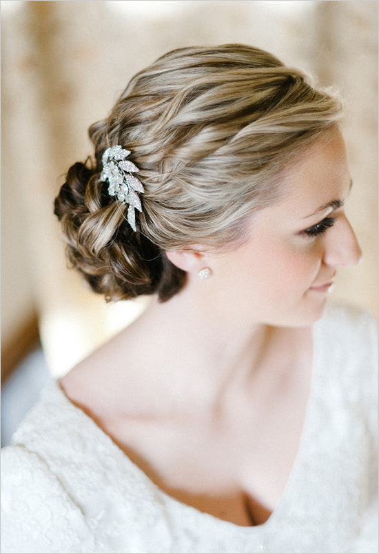 How to choose a wedding hair accessory bridalguide photo by erich mcvey on wedding chicks via lover junglespirit Image collections