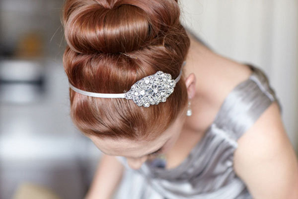 Bridal Hair Accessories For Buns : How to choose a wedding hair accessory bridalguide