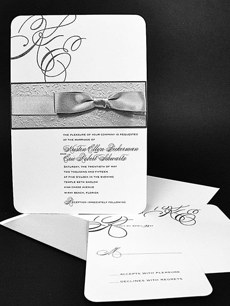 delicate balance invitation arlene segal