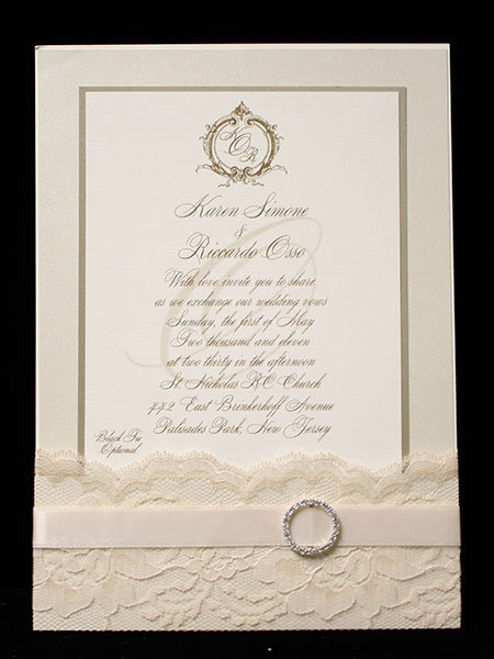 somewhere in time wedding invitation