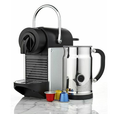 nespresso espresso maker pixie bundle