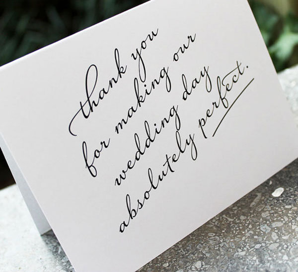 ... and Campbell Weddings Blog - 25 ways to give thanks at your wedding