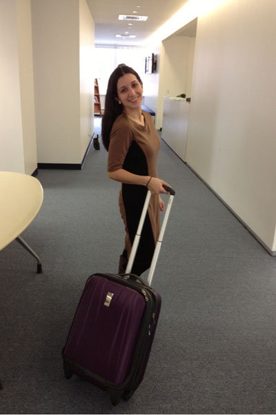 testing luggages