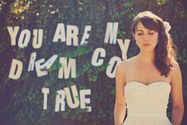 Photo by: Our Labor of Love on Bridal Musings via Lover.ly
