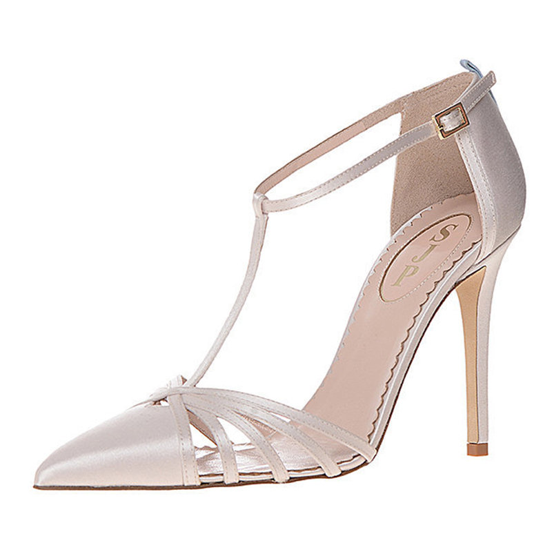 sjp wedding shoes look debuts bridal shoe 7535