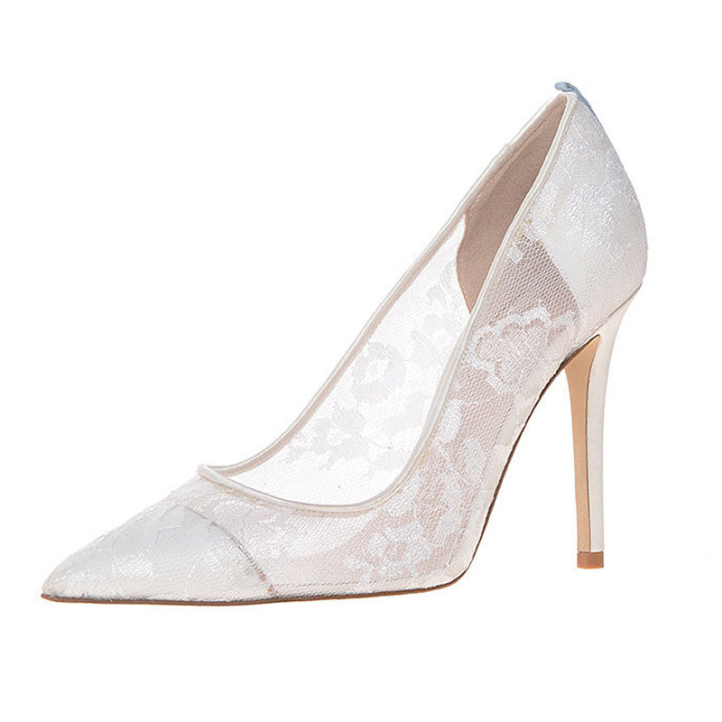 First Look Sarah Jessica Parker Debuts Bridal Shoe