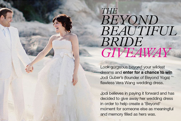 7b835a8e2398 Get in the Holiday Spirit with a Free Vera Wang Gown! | BridalGuide