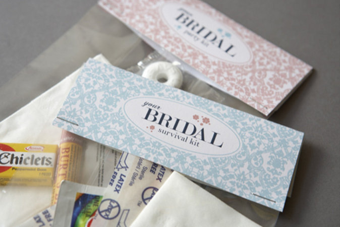 bridal party survival kit