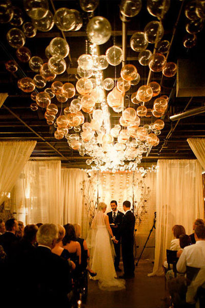 wedding reception decoration ideas diy diy we chandelier bridalguide 9876