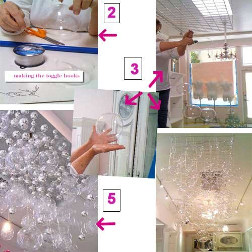 DIY We Love Bubble Chandelier – Diy Bubble Chandelier