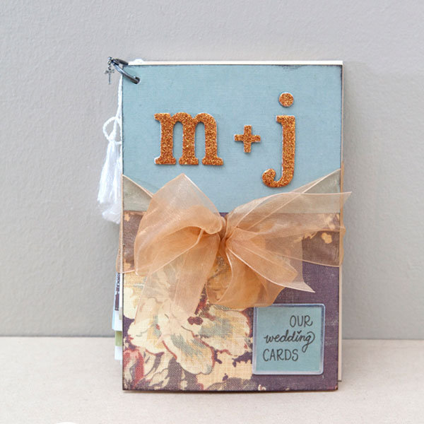 DIY We Love: Wedding Card Mini-Album