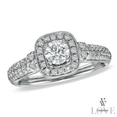 vera wang wedding rings