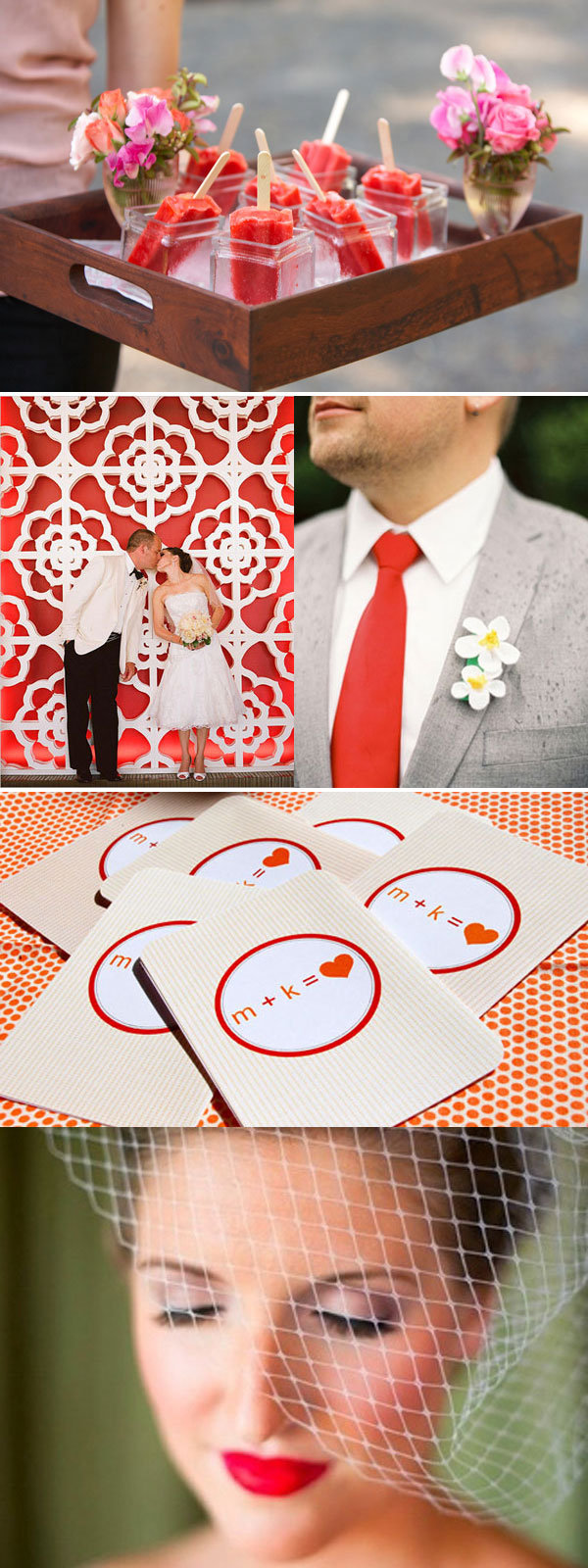 red wedding ideas