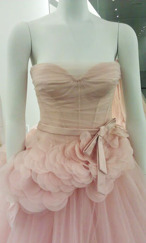 New vera wang gowns for 1 500 and under bridalguide for White corset under wedding dress