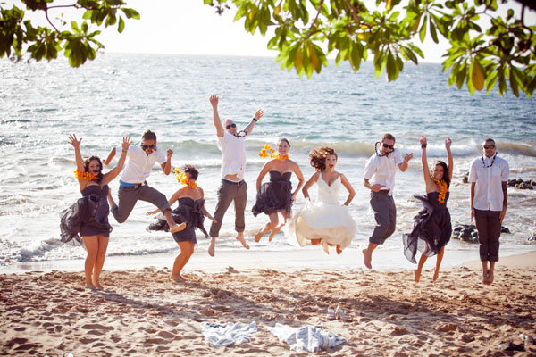 destination wedding on beach