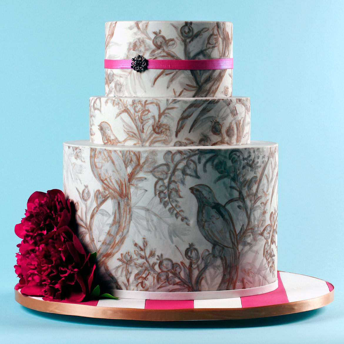 beautiful wedding cakes pictures how to get a beautiful wedding cake without spending a 11227