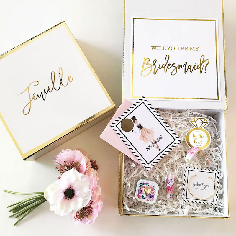 David's Bridal Bridesmaid Box