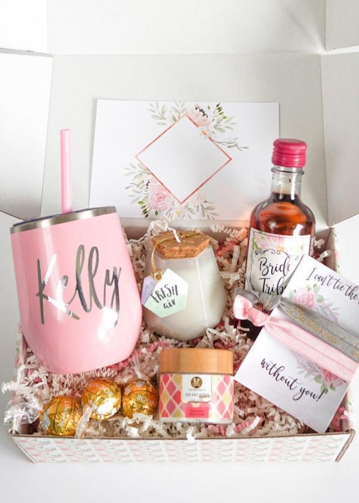 Lala Confetti Bridesmaid Box