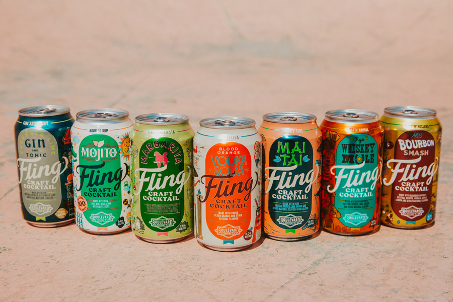 Boulevard Brew Co.'s Fling Craft Cocktail