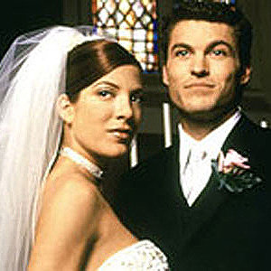 donna martin and david silver get married tv vows beverly hills 90210