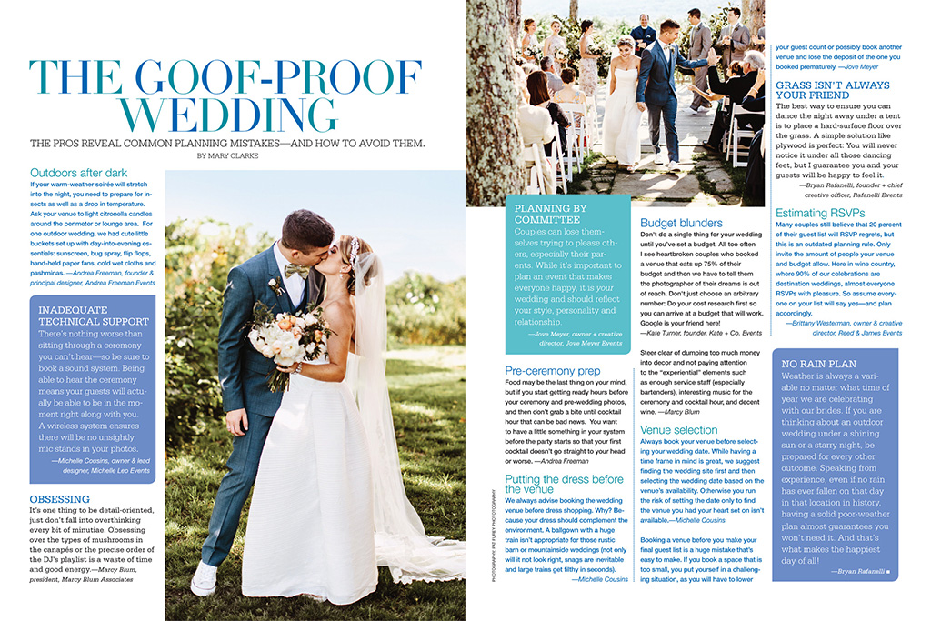Goof-Proof Wedding