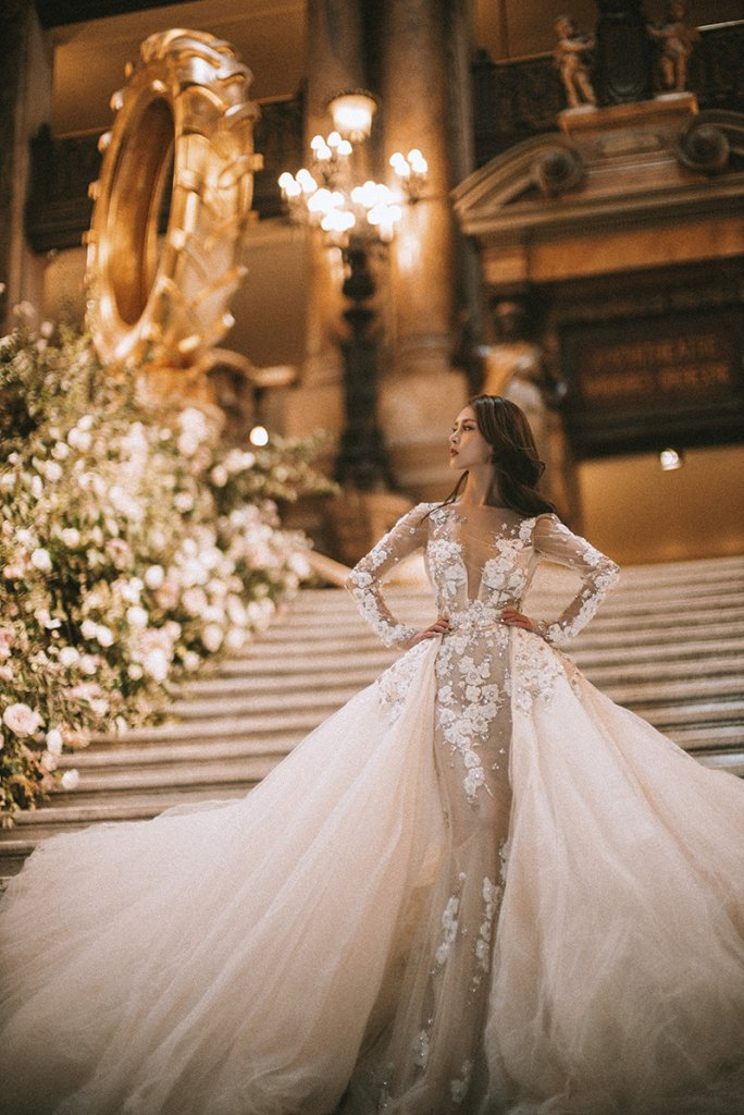 galia lahav real bride