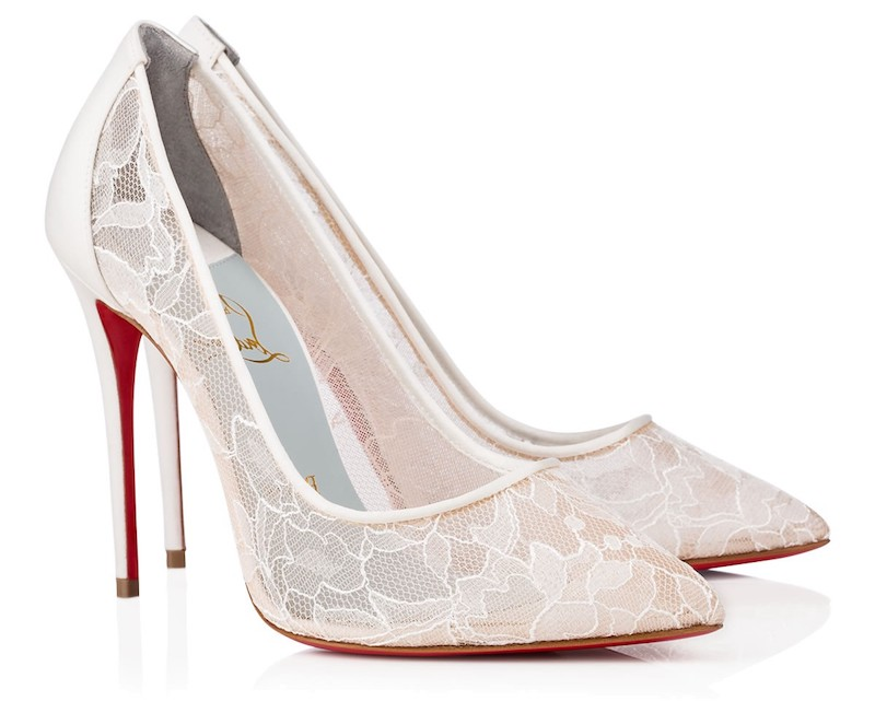 Christian Louboutin Royal Wedding Shoes