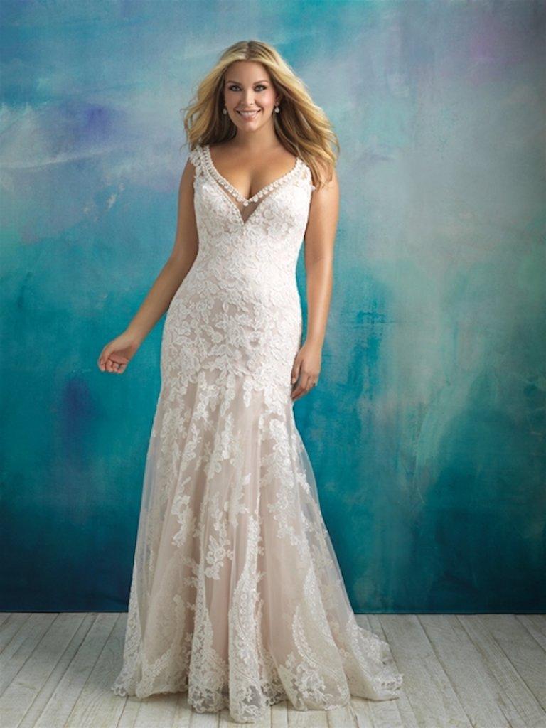 53257873991f9 8 Sexy Wedding Gowns for Curvy Brides BridalGuide