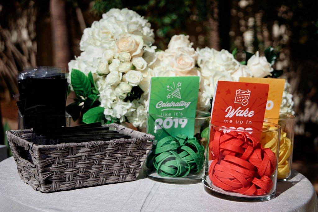 covid comfort level bracelets for wedding
