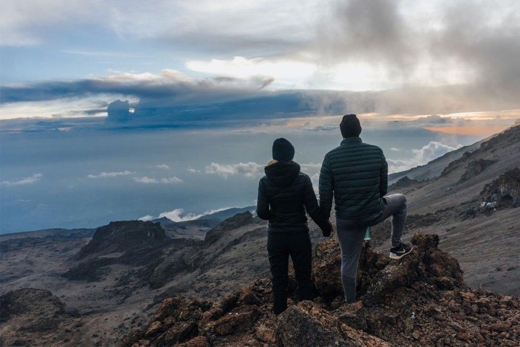 Kat & Gavin Mt. Kilamanjaro proposal