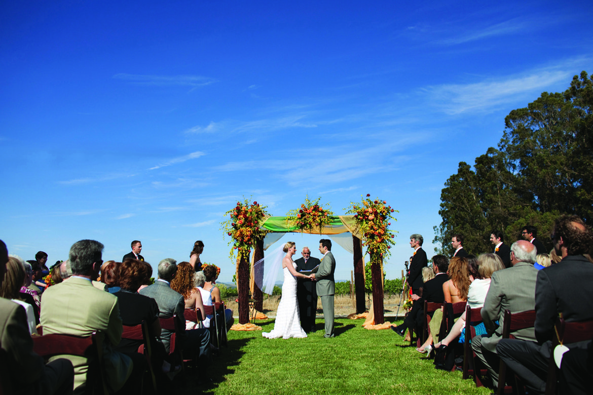 outdoor summer wedding