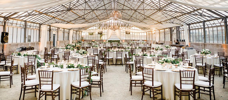 Garden-Chic Greenhouse Wedding Inspiration