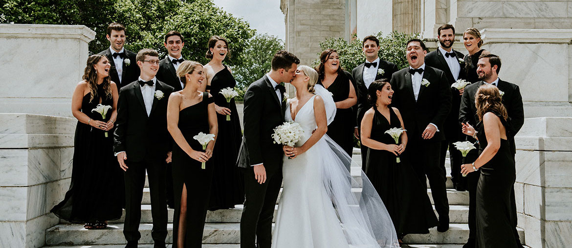 Real Wedding: Downtown Dream